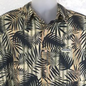 Chaps by Ralph Lauren Hawaiian Print Size Large